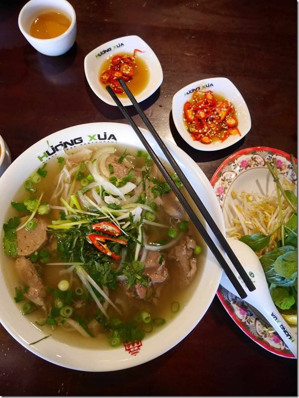 Pho Dac Biet or Special beef pho, Pho Huong Xua $10