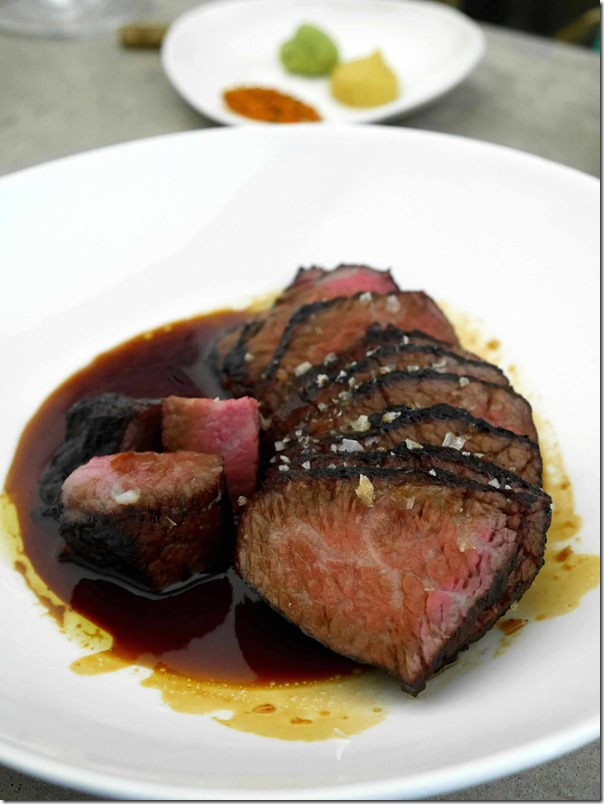 Soy glazed Angus beef $36