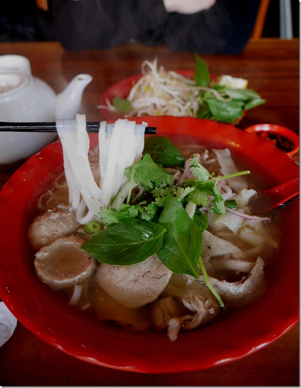 Pho Dac Biet or Special beef pho, PHD $12