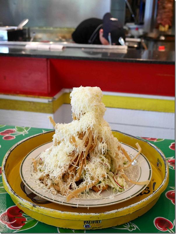 El Loco salad $15