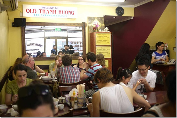 Dining room, Old Thanh Huong, Marrickville