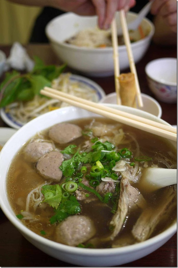 Pho Dac Biet or Special beef pho, Old Thanh Huong $12