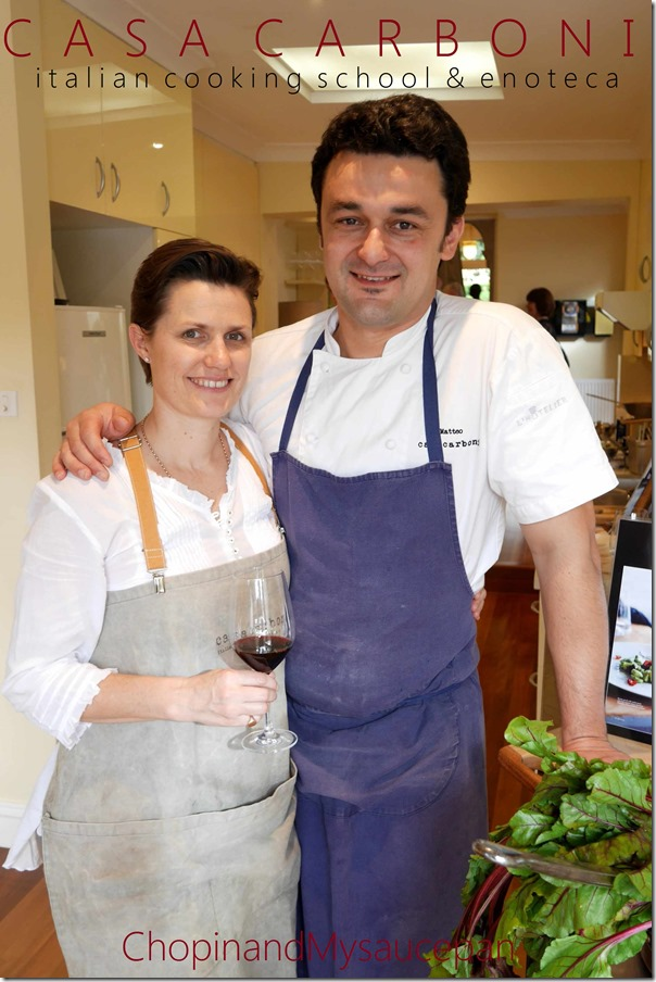 Matteo & Fiona Carboni ~ Casa Carboni, Italian Cooking School & Enoteca