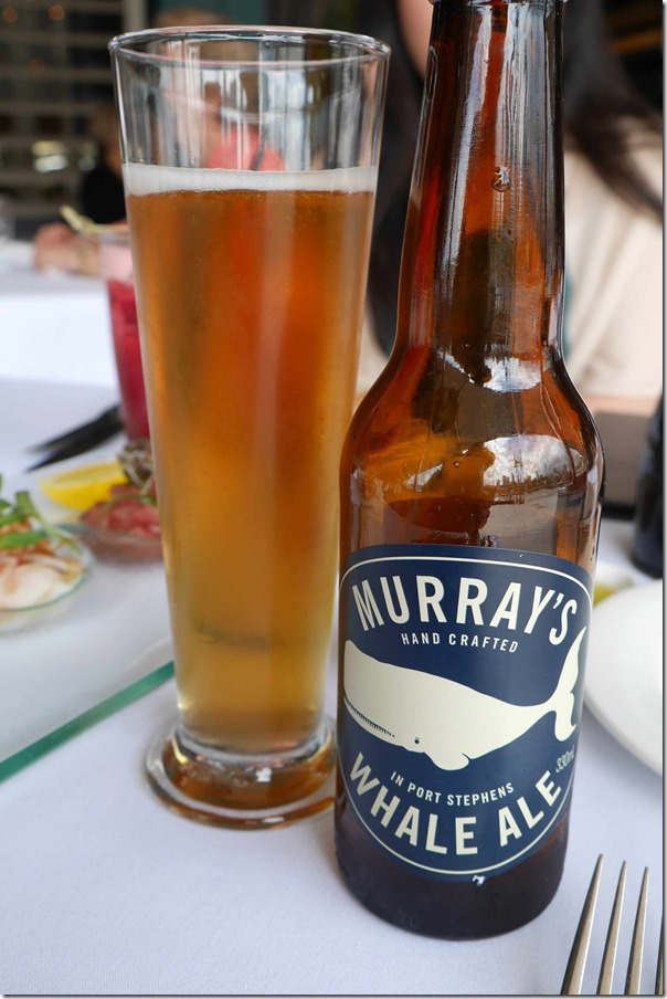 Murray's Whale Ale $9.5