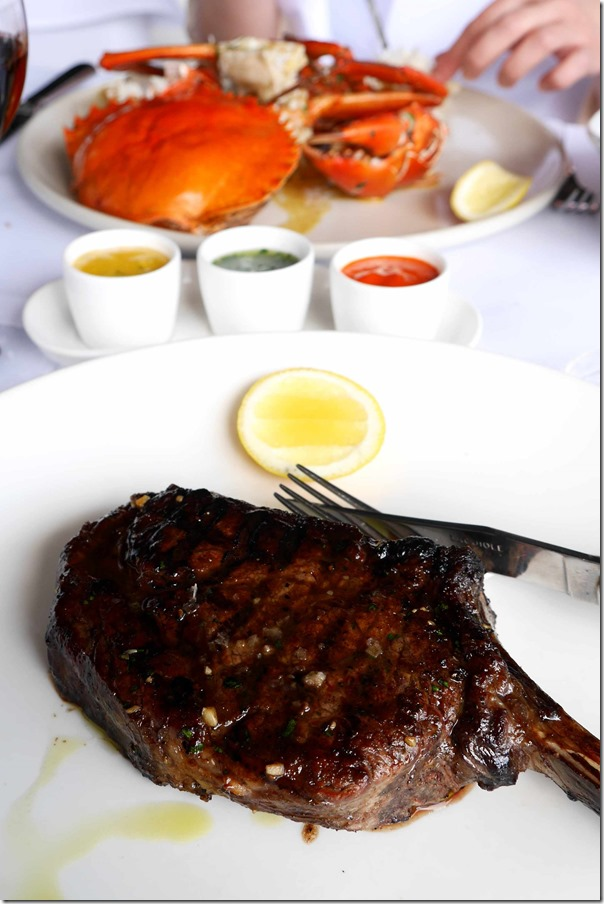 450gm Cape Grim dry-aged rib eye $56