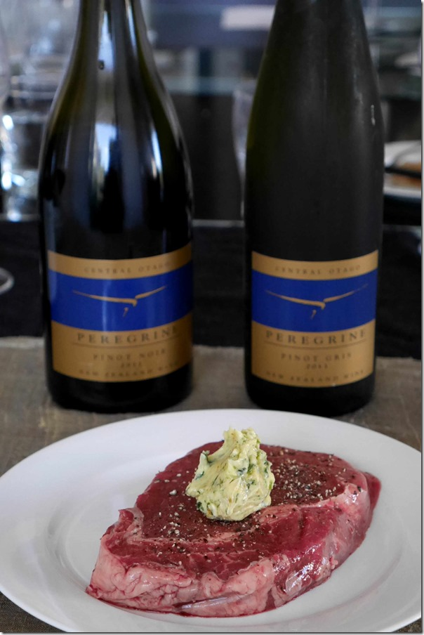 King island scotch fillet with bonito butter