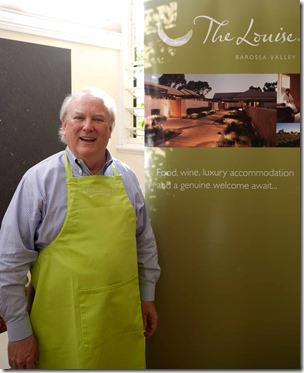 Jim Carreker, Proprietor of The Louise Luxury Accommodation, Barossa Valley