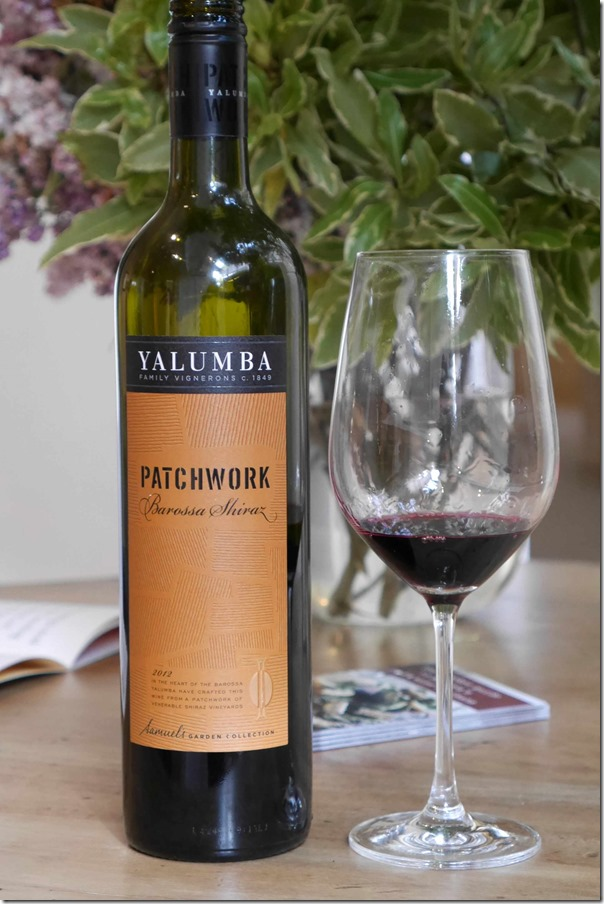 2012 Yalumba Patchwork Barossa Shiraz
