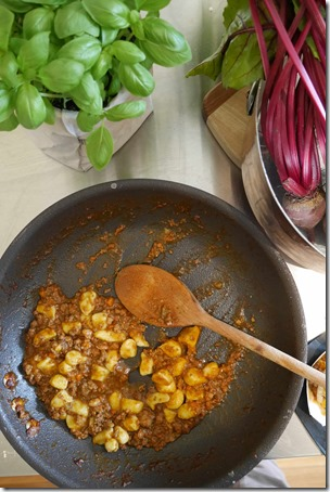 Matteo's hearty gnocchi with beef ragu