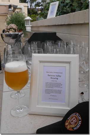 Organic beer from Barossa Valley Brewing