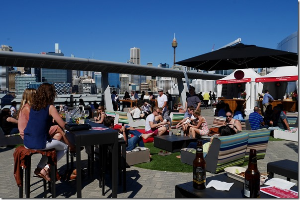 A lazy Sunday afternoon at The Sky Terrace, The Star Pyrmont
