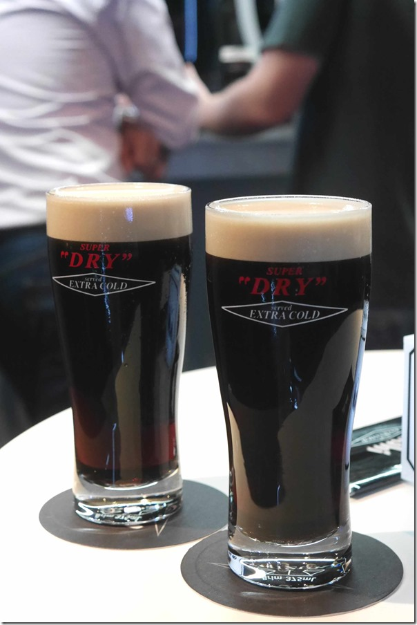 Asahi Super Dry dark beers