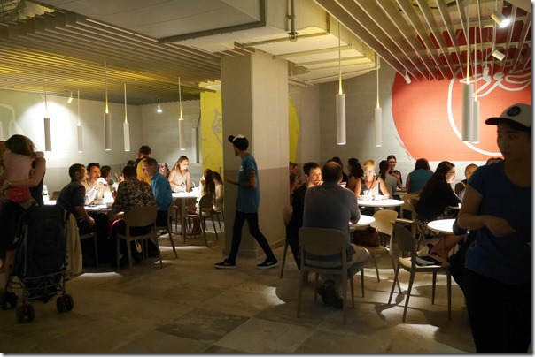 Dining room, Burger Project