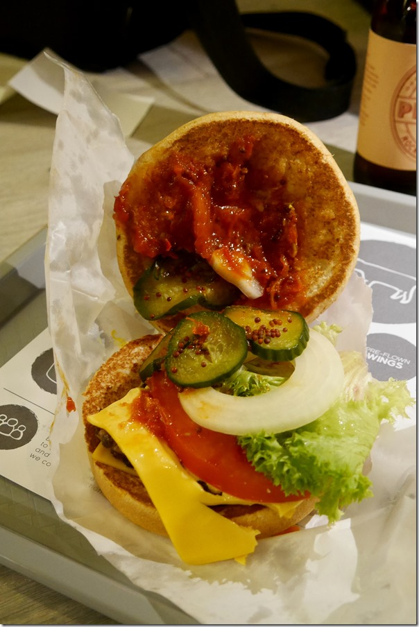 Cheese burger $8.90