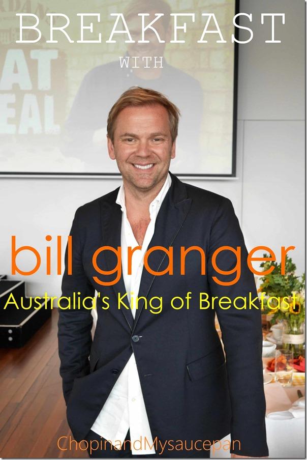 Breakfast with Bill Granger
