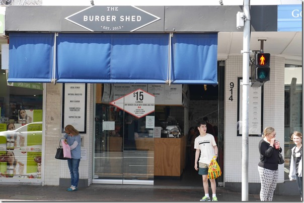 The Burger Shed, Mosman