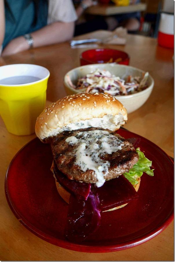 Federation burger $12