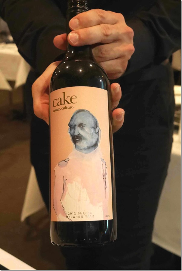 2012 Cake Wines Shiraz $9 / $42