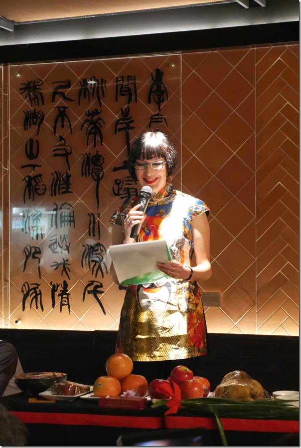 Master of Ceremonies ~ Claudia Chan Shaw