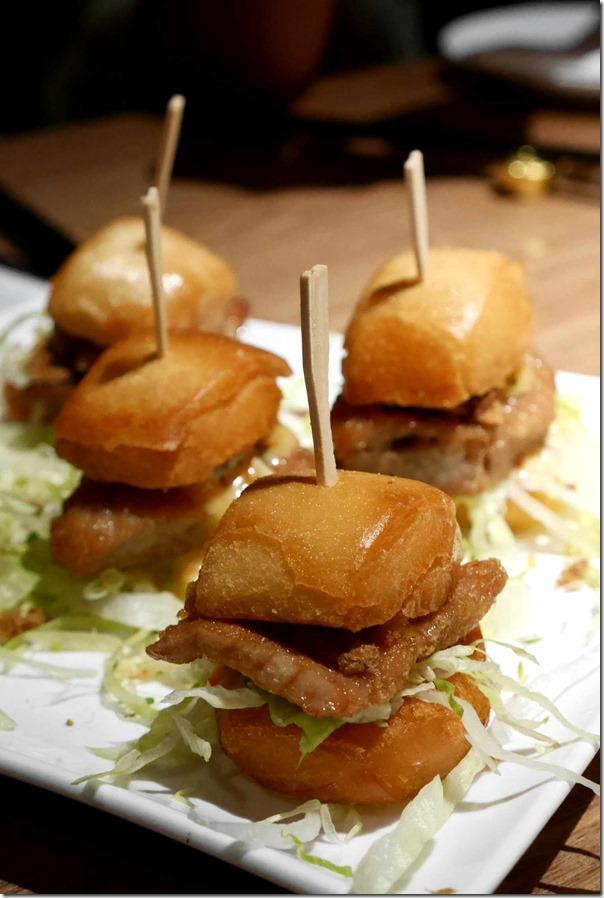 Macanese style mini burgers