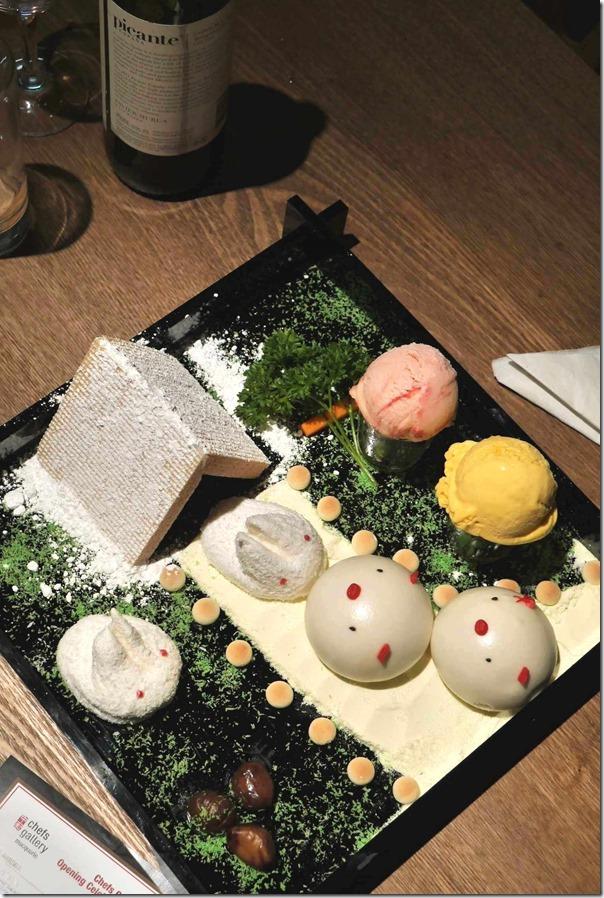 "Dessert ~ Signature ""Piggy Face"" with ""Totoro"" marshmellow"