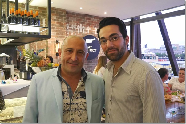 Owner Garry Simonian and Restaurant manager Gary Manoukian