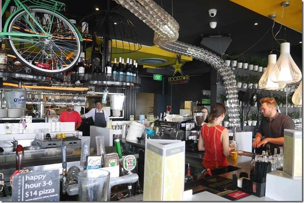 Cocktail bar, Blackbird Cafe
