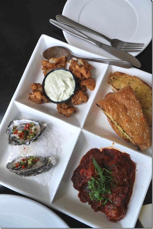 Blackbird Tasting Plate $22.90