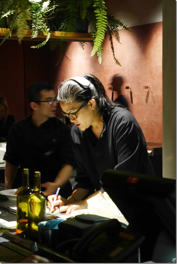 Kylie Kwong in the kitchen, Billy Kwong, Potts Point
