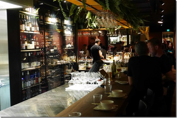 Bar dining at Billy Kwong, Potts Point