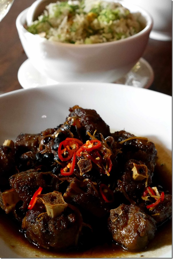 Australian Chinese ~ Red braised wallaby tail $32