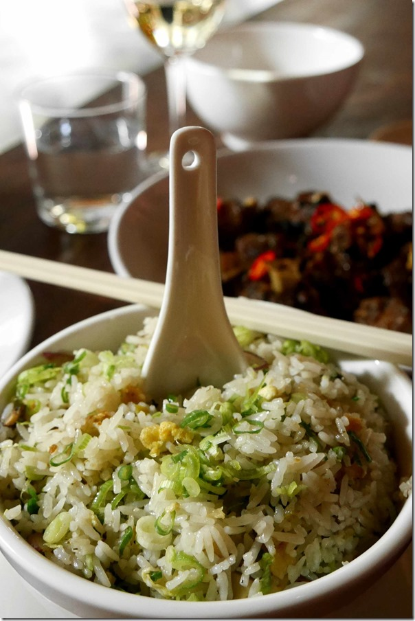 Cantonese style fried rice $12 per bowl