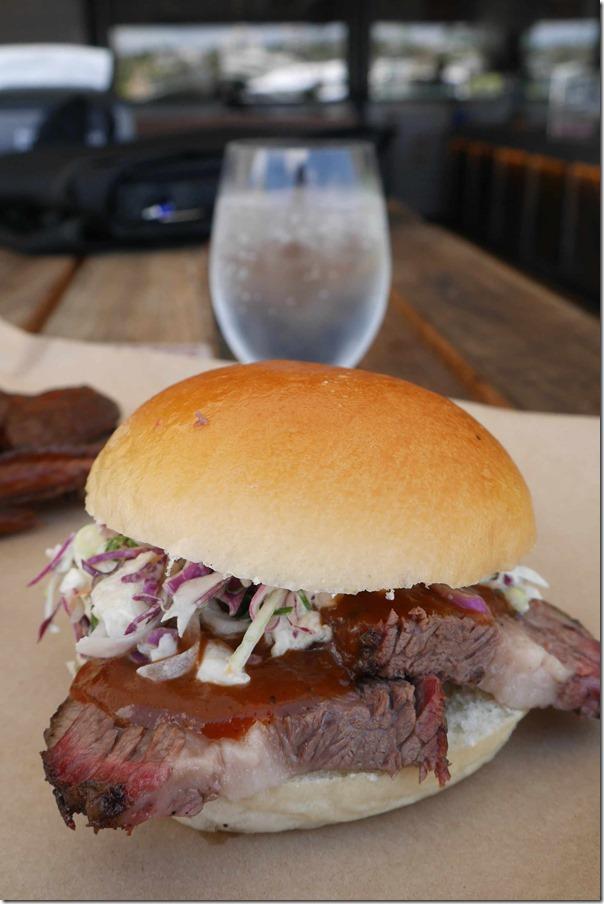 Brisket sandwich $10