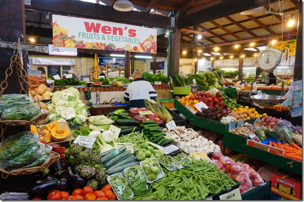 Fresh fuits and vegetables, Fremantle Markets