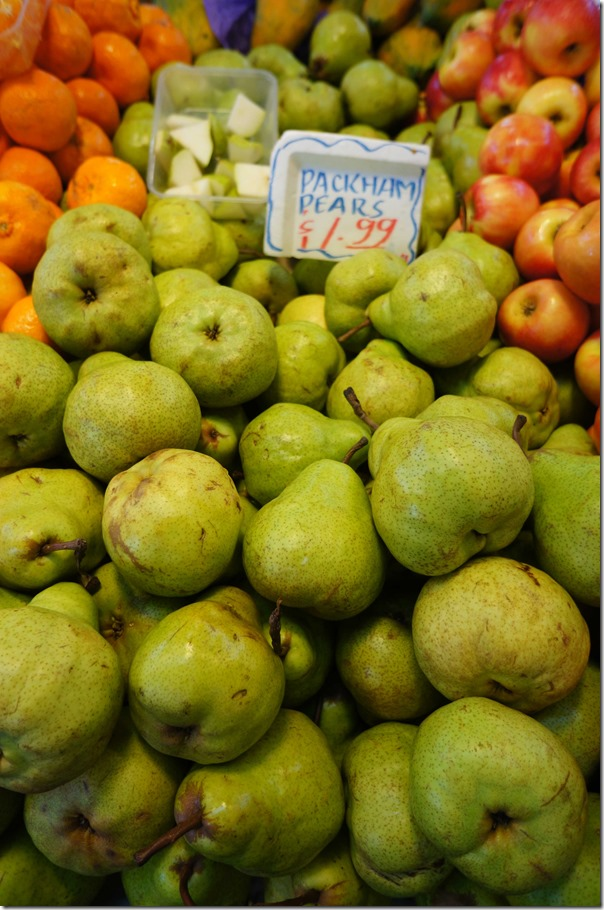 Packham pears $1.99/kg