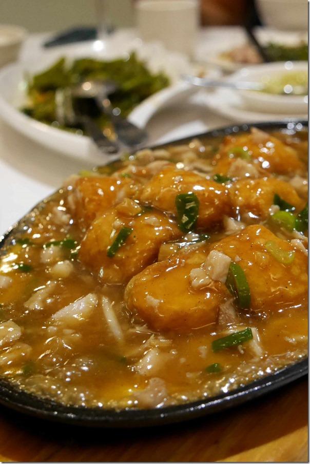 Sizzling Singapore Japanese tofu $16