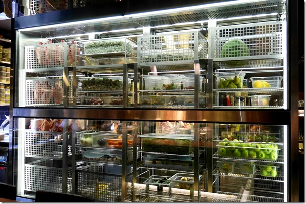 Raw ingredients in the fridge, Momofuku Sydney