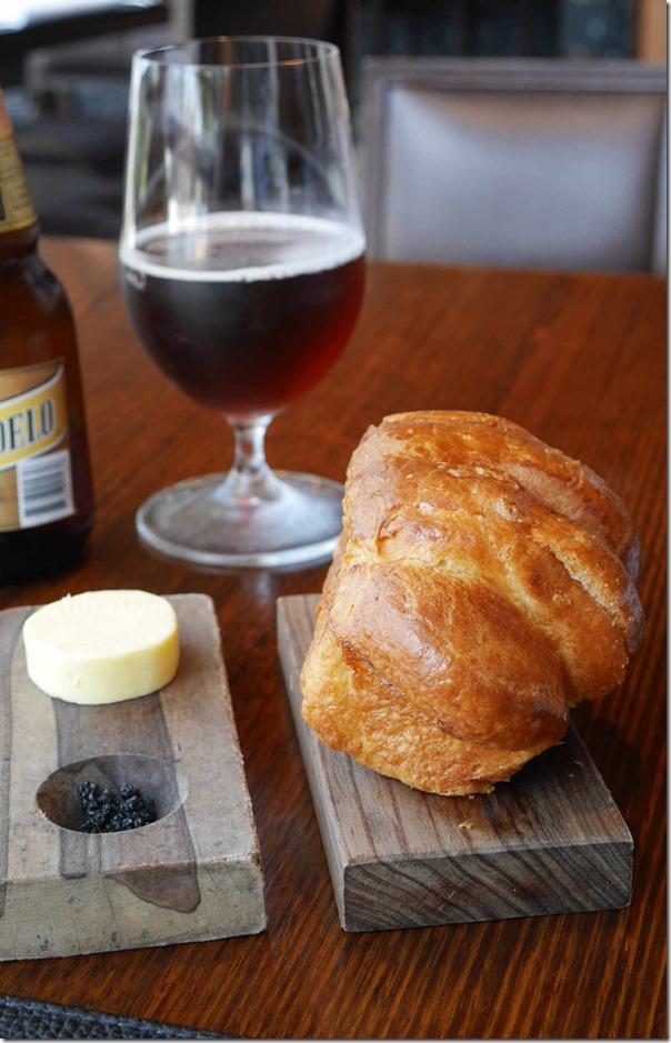 Unsalted butter, volcanic black salt and fresh brioche
