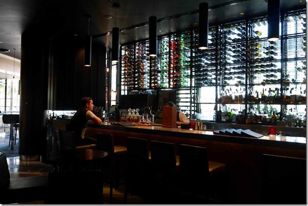 Cocktail bar at BLACK by Ezard, Sydney