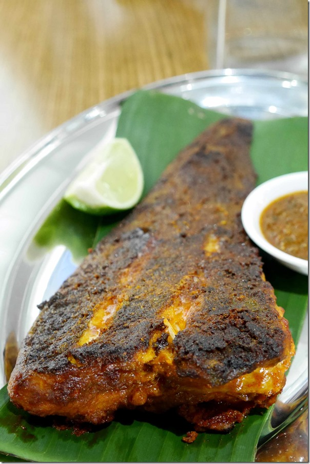 Ikan bakar or grilled skate $16