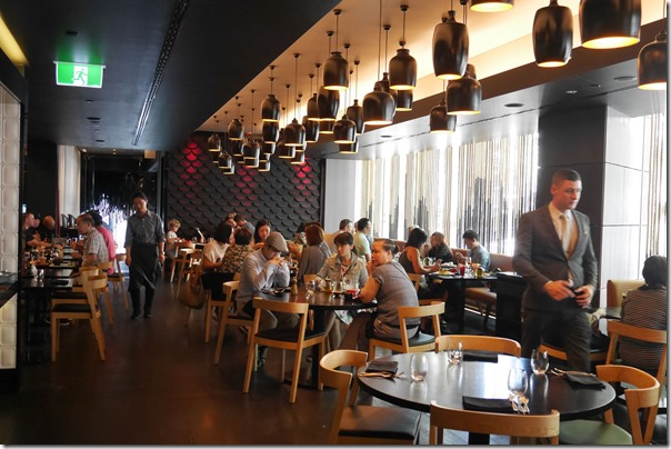 Dining room, Sokyo, The Star, Pyrmont