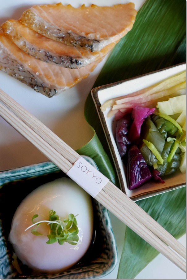 "Traditional ""Choushoku"" breakfast"