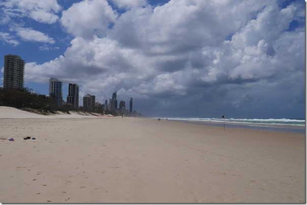 Kurrawa beach, Gold Coast