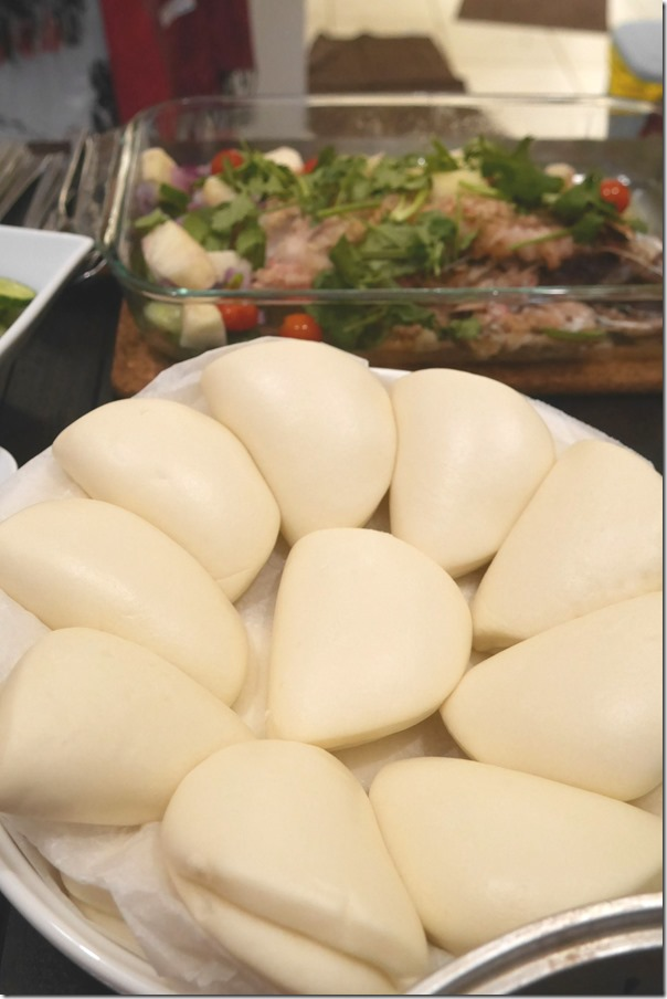 Chinese steamed bao
