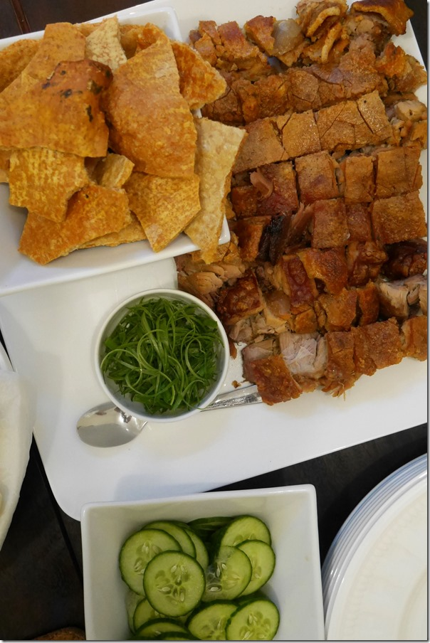 Chinese roast pork and crackling