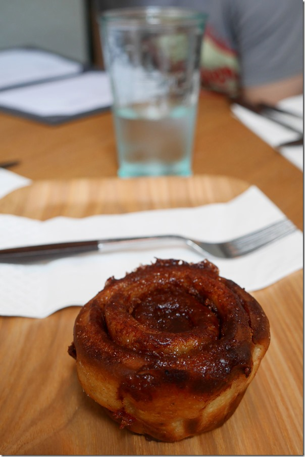 Cinnamon pastry $4