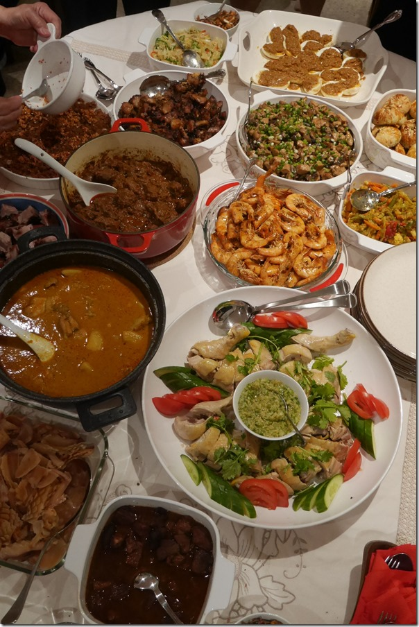 Molly & KC's Chinese New Year feast 2015
