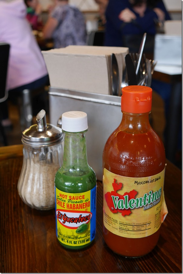 Mexican style hot sauces