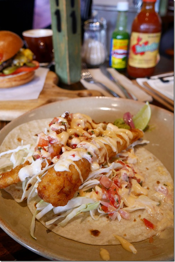 Fish tacos $16.50