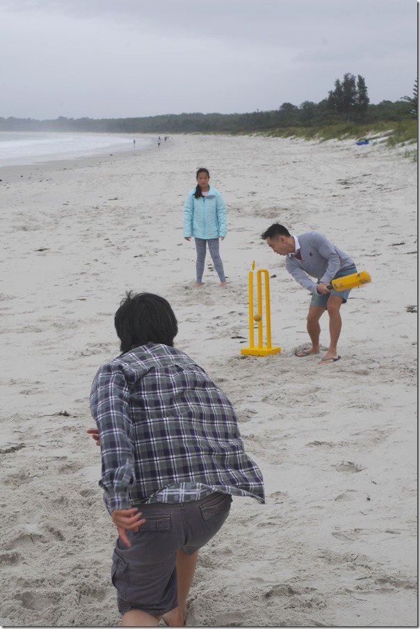 Cricket on Callala Beach, Jervis Bay